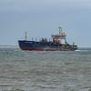 MV UKD Bluefin of Calshot as she enters Southampton water