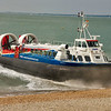 Hovercraft coming ashore