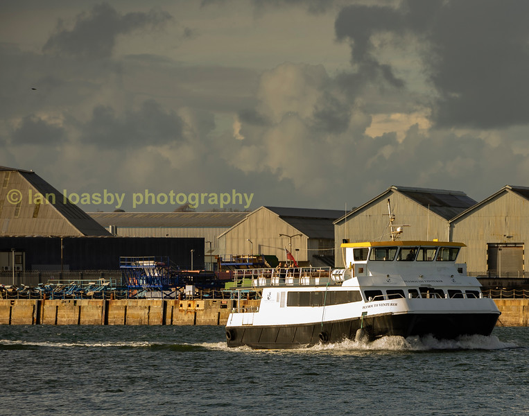 One of the many tour vessels operating in and around Plymouth on the river tamar and sound