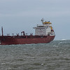 Maltese flagged chemical tanker MV Songa Ruby is seen entering Southampton water on a very blustery (seem to become a gale force wind) in mid June 2021, Songa Ruby was built in 2008