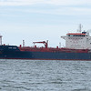 MV Leon Zeus is a Panamanian 26000gross tonnage oil /chemical tanker built in 2008, seen here entering Southampton water at calshot