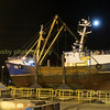 macduff ship yard at night