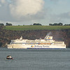 Pont Aven in Plymouth sound