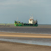 A dredger of the Lincolnshire coast