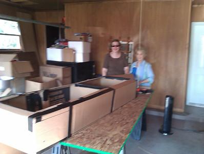 1st Annual Simmons Cardboard boat Regatta Labor Day 2011