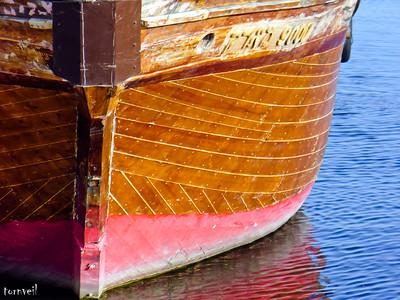 2007-03-07 Wood Boat on Galilee