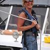 Valyrie Moroney doing her rope trick in Meelick Lock!