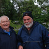 """Joe """"Scappare"""" Tierney sharing a lighter moment with John """"Rapport"""" Ryan on Fri evening."""