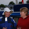 "Pat ""Cruidin"" O' Donnell with Maria ""Scappare"" Keane at Castle Harbour."