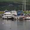 'Rapport', 'Besie' and 'Arthur', moored in Dingle Marina.