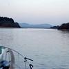 Approaching the mouth of Killaoe estuary...