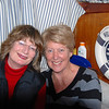 Patricia and Rita at a pre-dinner drink and snack party on 'Arthur'.  Shay & Tricia Geraghty ('This Way Up') joined the CIC late on Friday  bringing the total number of boats to SIX!