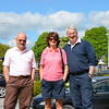Saturday Morning: 'Sean Og' of Dubarry's provides a taxi service to the Factory Shop for Patricia & Shay (This Way Up). Dubarry's offered a shuttle service to and from the factory shop for Cruising Club members throughout the weekend. A great facility and a wonderful service!
