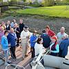 Commodore's Reception on the jetty at Ballinasloe Marina.