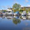 More Cruising Club boats moored in Ballinasloe Marina.