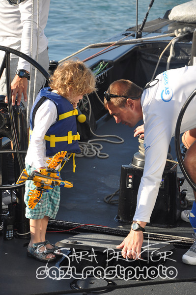 2011 Key West Race Week, Onboard RC44 Team Aqua