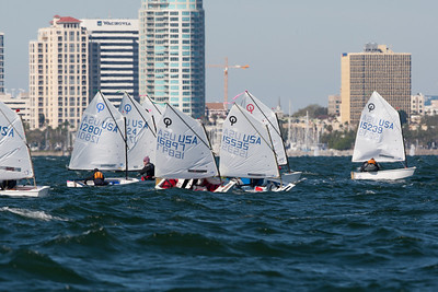 2011 Opti Valentine's Regatta at SPYC