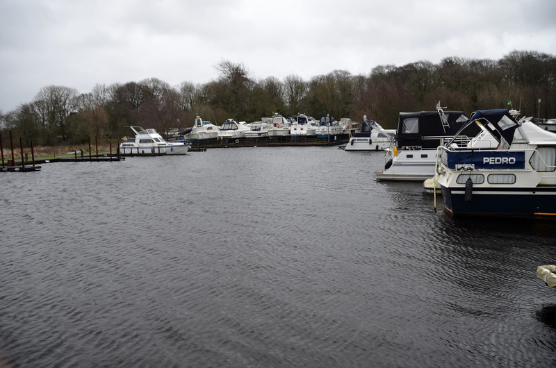 "Maddens Marina, Portumna on Wednesday, 4th January 2012, circa 15.45.  Spent two days onboard ""Arthur"" and took the following photos just before deparrting the marina this afternoon.<br /> <br /> It was hugely comforting to encounter both John and David Madden in the marina on Tuesday and Wednesay.where they were regularly checking the boats that were still in the water and taking cognisance of warps (ropes to some!)."