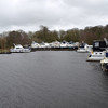 Difficult to accurately capture the state of the water as the wind swept across the marina.