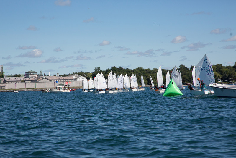 2013 CORK Optimist Green Fleet