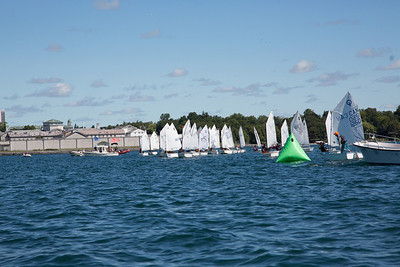 2013 CORK Optimist Green Fleet