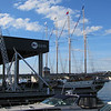 Windy on Thursday morning before setting sail to Green Bay