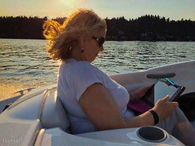 2015-09-11 Lake Washington in Our Bayliner