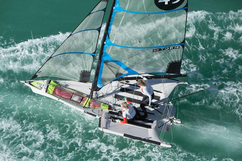 2015 49er FX Sailing World Cup Miami