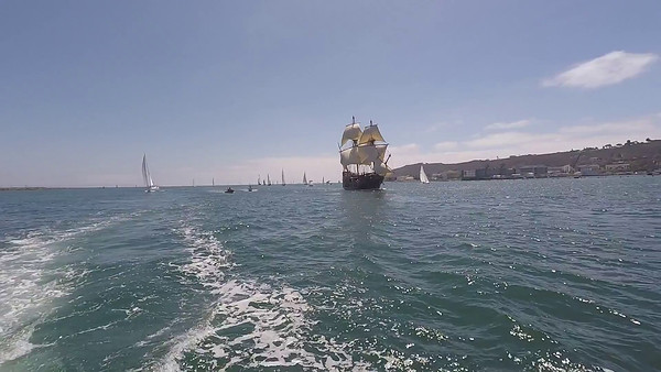 9/2/2016 San Salvador Video San Diego Bay
