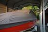 Moorage cover. Boat always kept under covered storage.