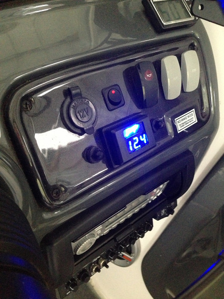 Battery monitor.