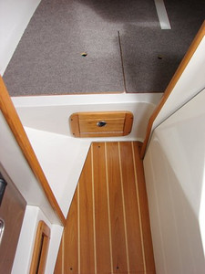 Aft Berth Converted to Storage/Custom Drop ins