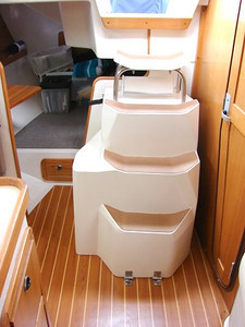 Engine Cover / Companionway Steps