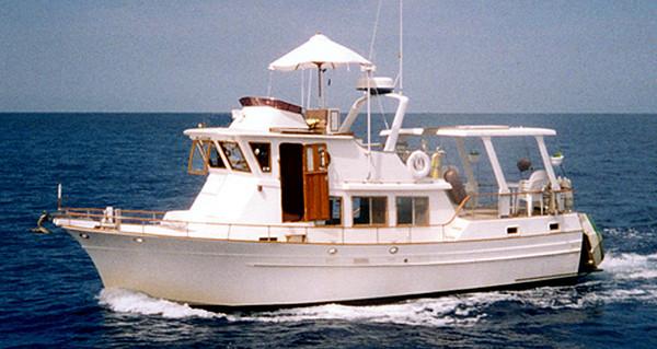 Albin 42' Custom Pilothouse Sundeck Trawler