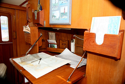 Pilothouse Chart Table Open