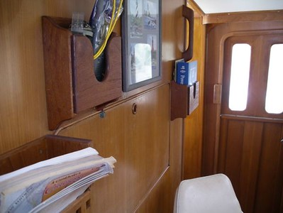 Pilothouse Chart Table Closed
