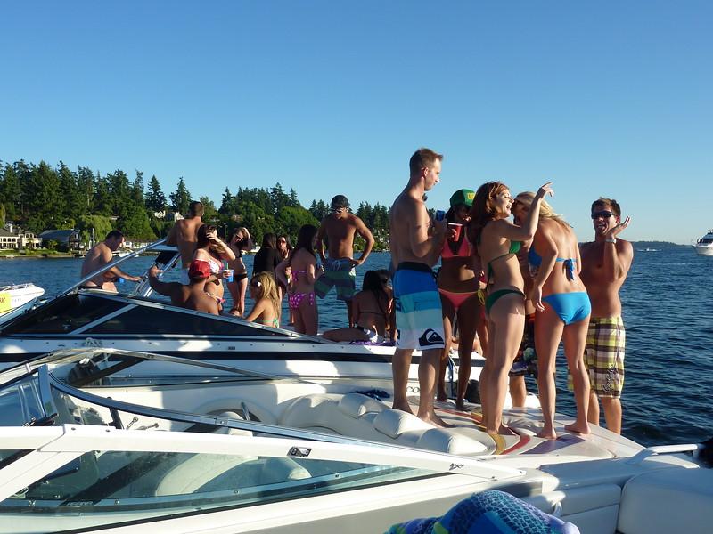 White Party Woodinville Boating Mike Lisa Joe Mark 118