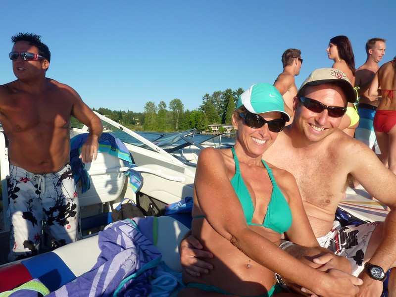 White Party Woodinville Boating Mike Lisa Joe Mark 110