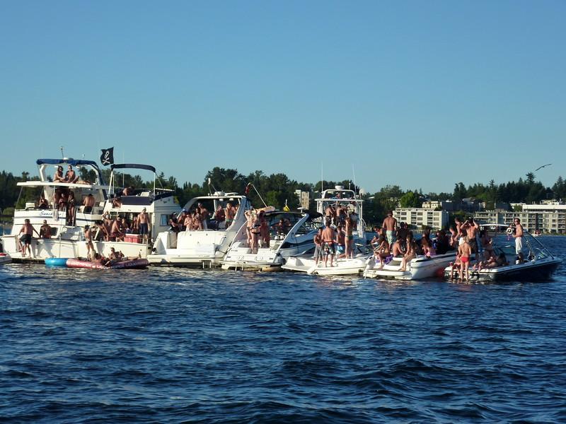 White Party Woodinville Boating Mike Lisa Joe Mark 120