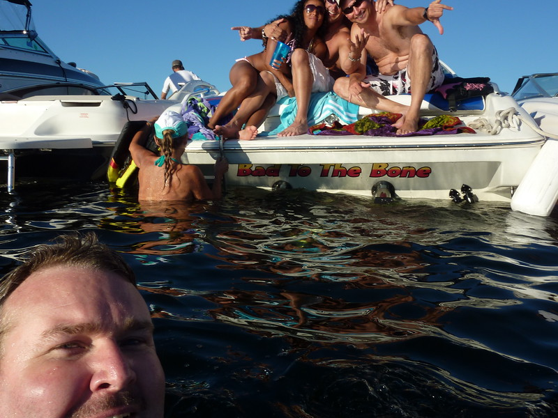 White Party Woodinville Boating Mike Lisa Joe Mark 108