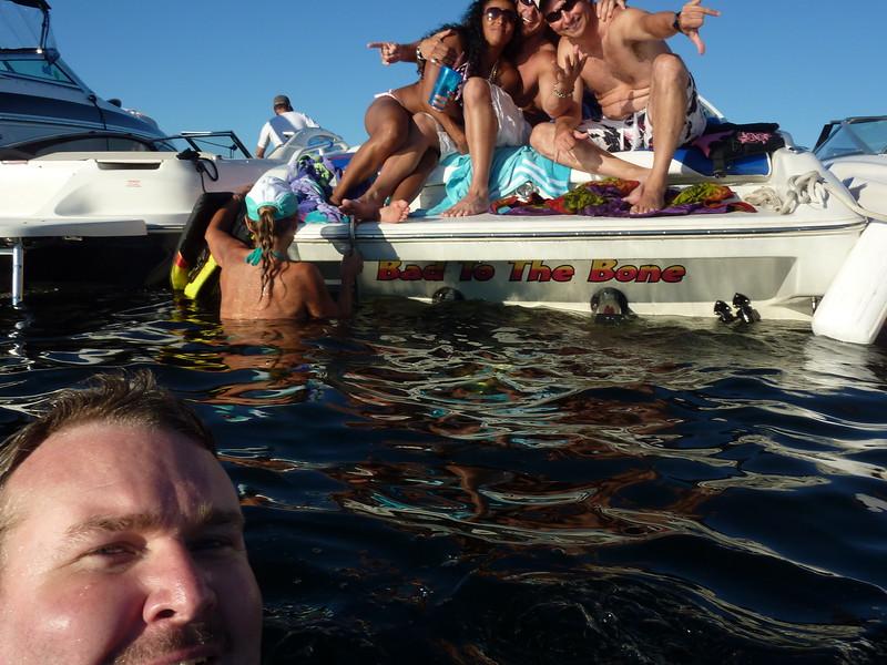 White Party Woodinville Boating Mike Lisa Joe Mark 108