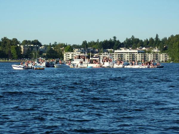 White Party Woodinville Boating Mike Lisa Joe Mark 123