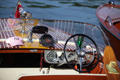 the 34th annual Antique and Classic Boat show at the Olde Harbor Inn and Hook Line and Drinkers on Saturday June 27, 2009, in Coventry Township, Ohio.  Photo By Lew Stamp, PhotoStamp@sbcglobal.net