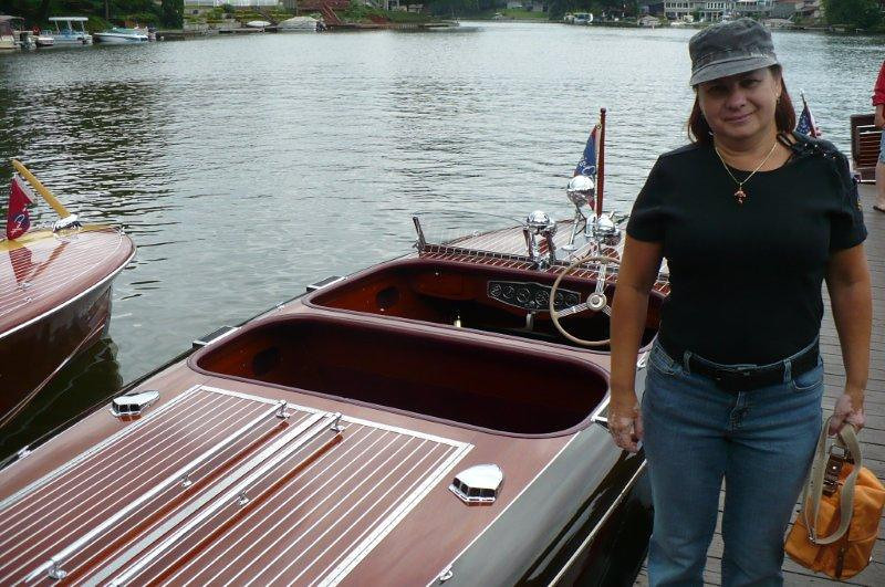 "Portage Lakes Chris Craft Antique Wooden Speed Boat Show 2012.<br /> Russian Brides Love Chris Craft Antique Wooden Speed Boats! Single Russian Brides For Marriage!<br /> A Belarus Bride Russian Matchmaking Agency For Traditional Men Seeking Beautiful Single Russian Women For Marriage!<br /> <a href=""http://www.abelarusbride.com"">http://www.abelarusbride.com</a>    Nina Zaytzeff Owner"