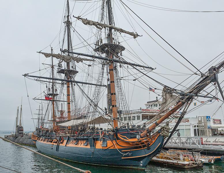 HMS Surprise (replica)<br /> San Diego Maritime Museum