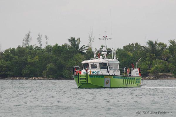 Miami Dade County Fire Boat 1