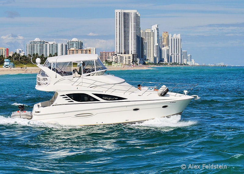Haulover Cut, Sunny Isles Beach in the background