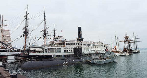 USS Dolphin (AGSS 555)<br /> San Diego Maritime Museum
