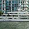 """Fountainhead""<br /> Mark Cuban's yacht<br /> 300Ft (88m) long<br /> <br /> 2-shot pano - very detailed if you look at the original shot"