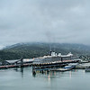 Holland America Line in Skagway, AK